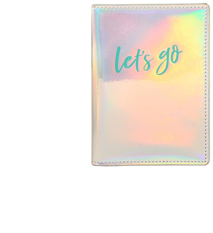 Passport Case - Let's Go - Luster - Olipikapa