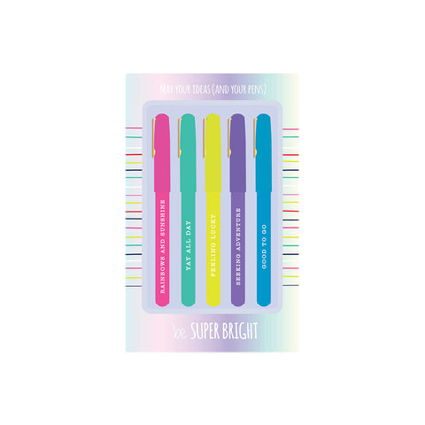 Pen Set - Be Super Bright - Olipikapa