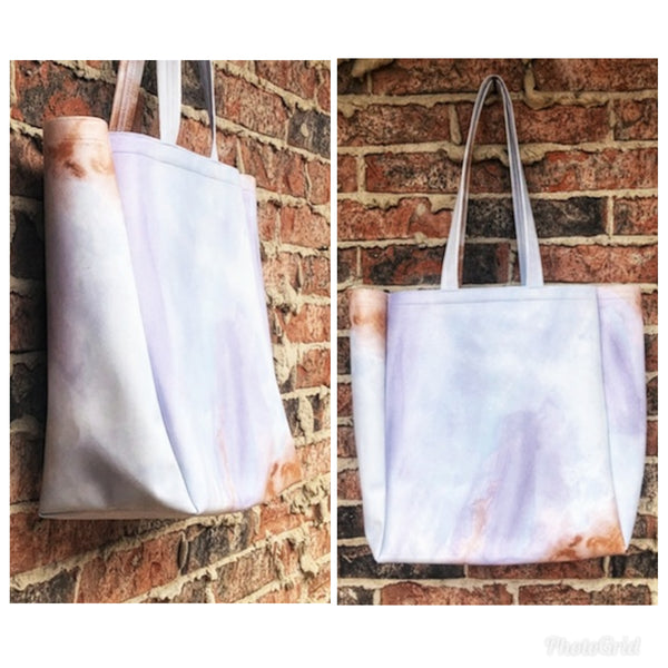 Vegan Leather Tote - Take Everywhere - Olipikapa