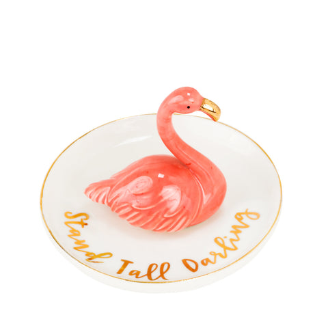 Trinket Tray - Flamingo - Olipikapa
