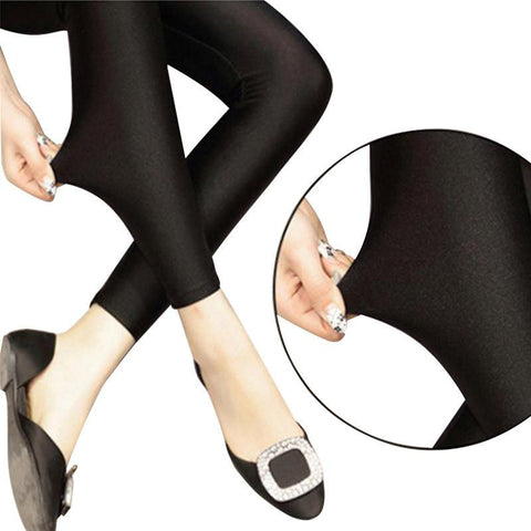 Sexy Solid Candy Women's Leggings
