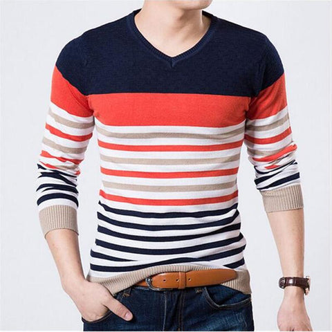 Retro long sleeve pullover