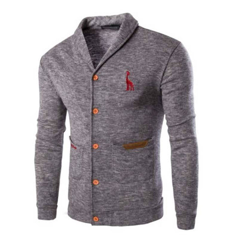 Slim fit casual cardigan