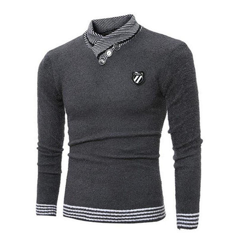Slim fit casual pullover