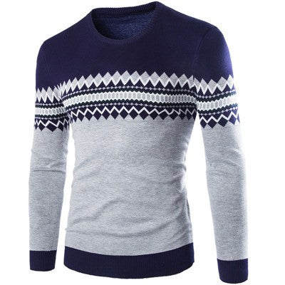 Slim fit O neck pullover