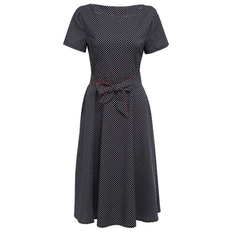 Short Sleeve Knee-Length  Summer Dress