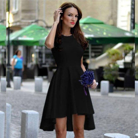 Sleeveless Elegant Mini Summer Dress