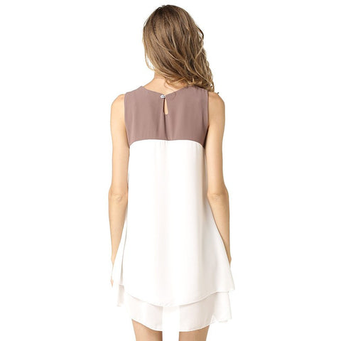 Sleeveless Mini Summer Party Dress
