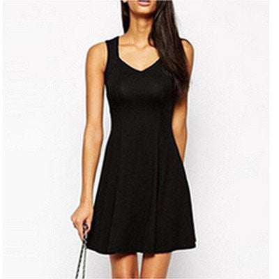 Sleeveless Summer Party Dress