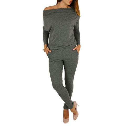 Autumn female jumpsuits