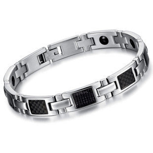 9MM Wide Power Increase Magnetic Mens Bracelets