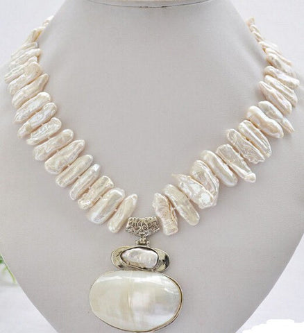 Pearl Necklace freshwater  17