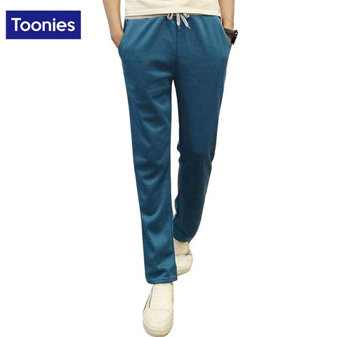 New Arrival Winter Skinny Trousers Slim Fitness Joggers Elastic Waist
