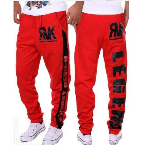 New style fashion leisure  pants print fitness