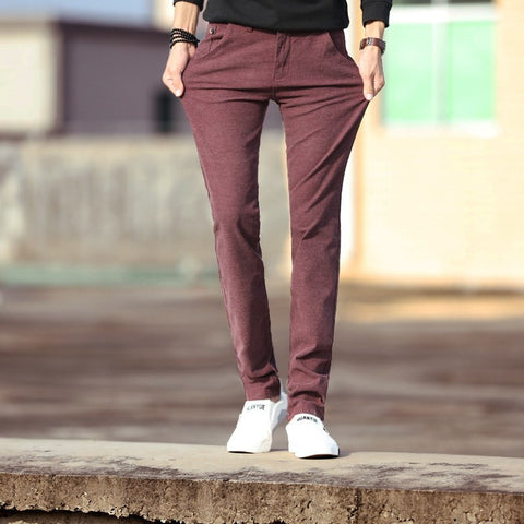 New style men's denim trousers stretch
