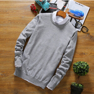 Basic long sleeve pullover