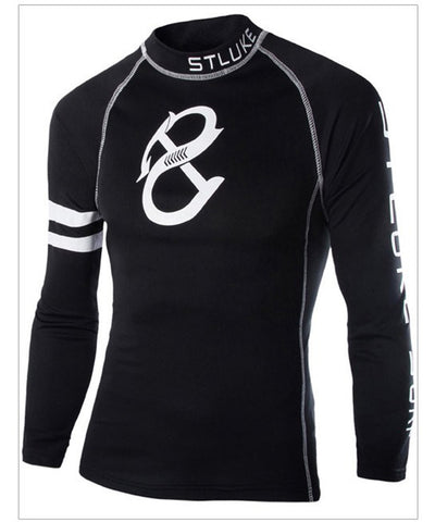 Brand Men Long Sleeve T Shirt