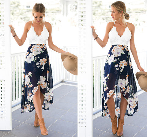 Ankle Length Beach Dress
