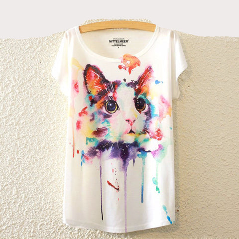 Brand New Fashion Summer Harajuku Printed T-Shirt