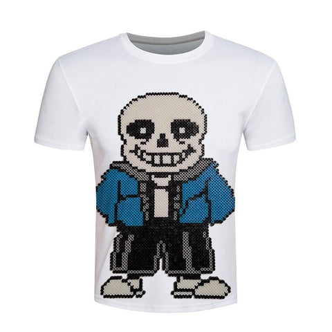 Novelty Mens game Game Undertale T-Shirt