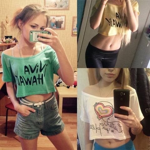 Summer Fashion Crop Top