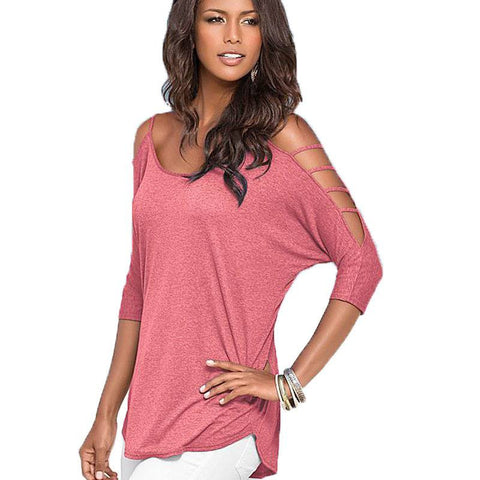 Tunic Shirt Half Sleeve Blouse