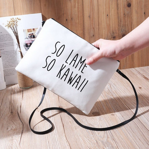 New Fashion Women's PU Leather Handbag Waterproof