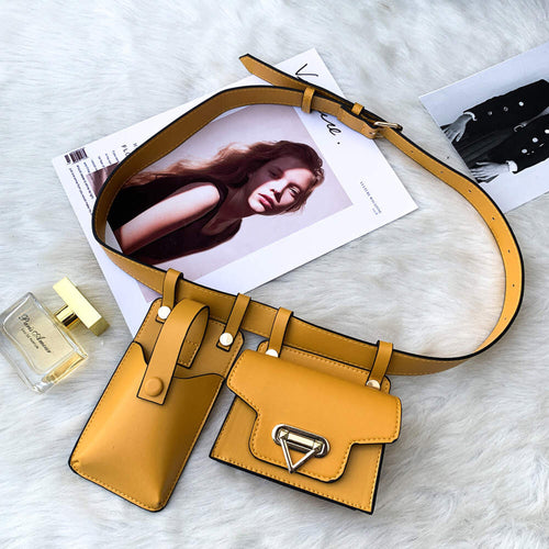 *** New Color*** Ari Waist Purse Fanny Pack - GOLDEN YELLOW