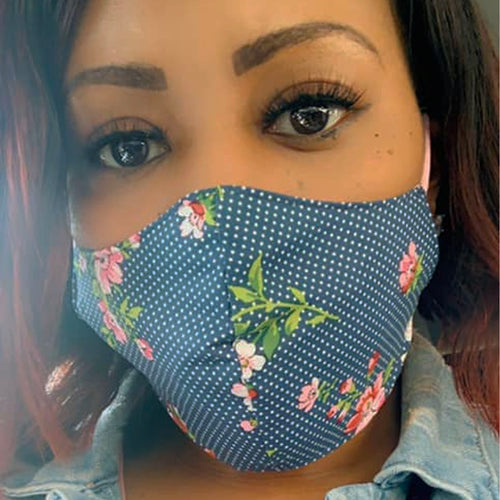 Women/Girls Prints & Textured Face Mask