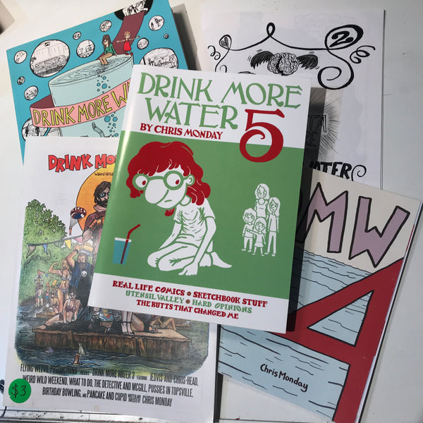 Drink More Water 5-issue bundle