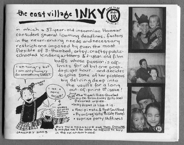 The East Village Inky #18