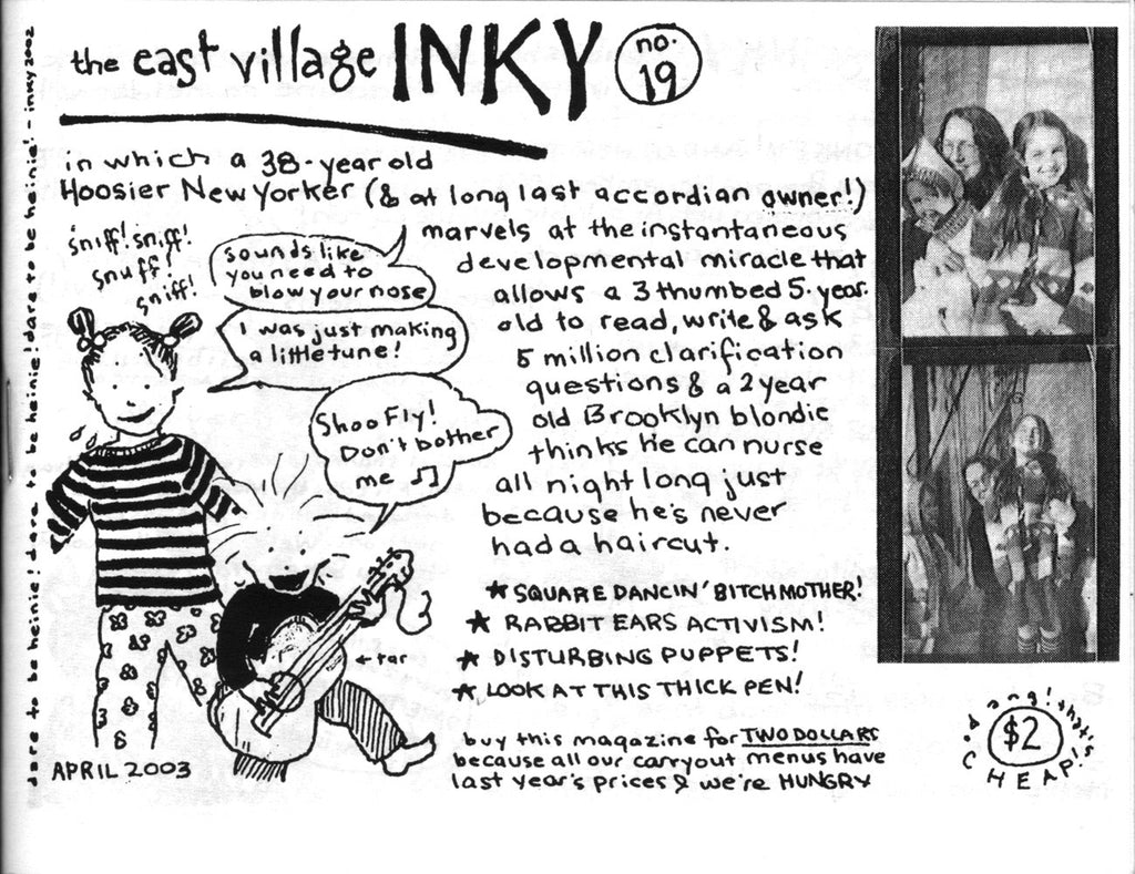 The East Village Inky #19