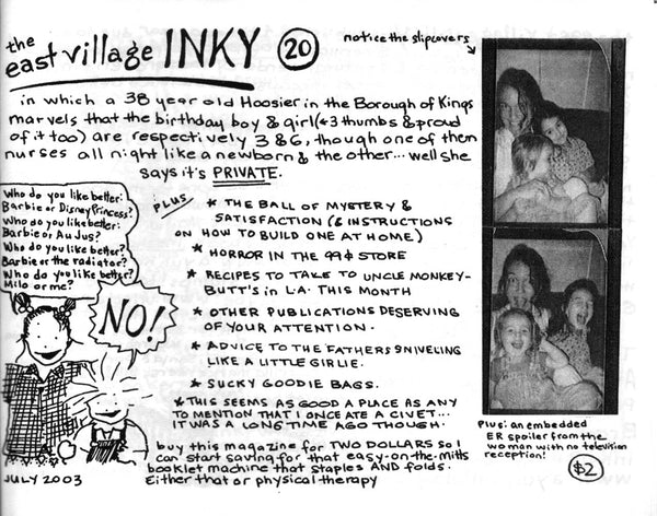 The East Village Inky #20