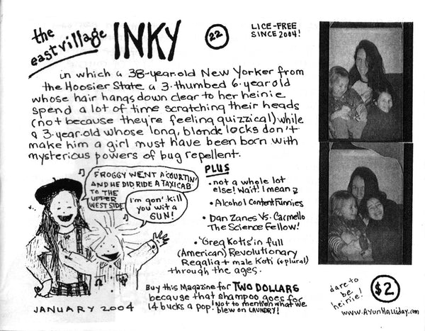 The East Village Inky #22