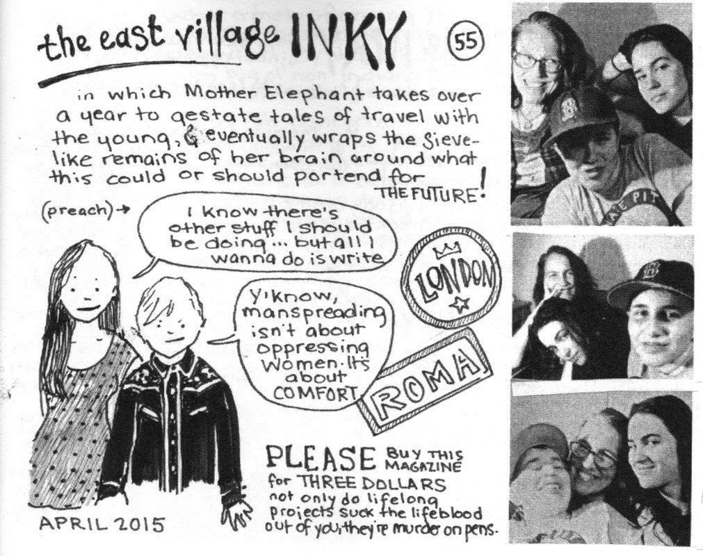 The East Village Inky #55