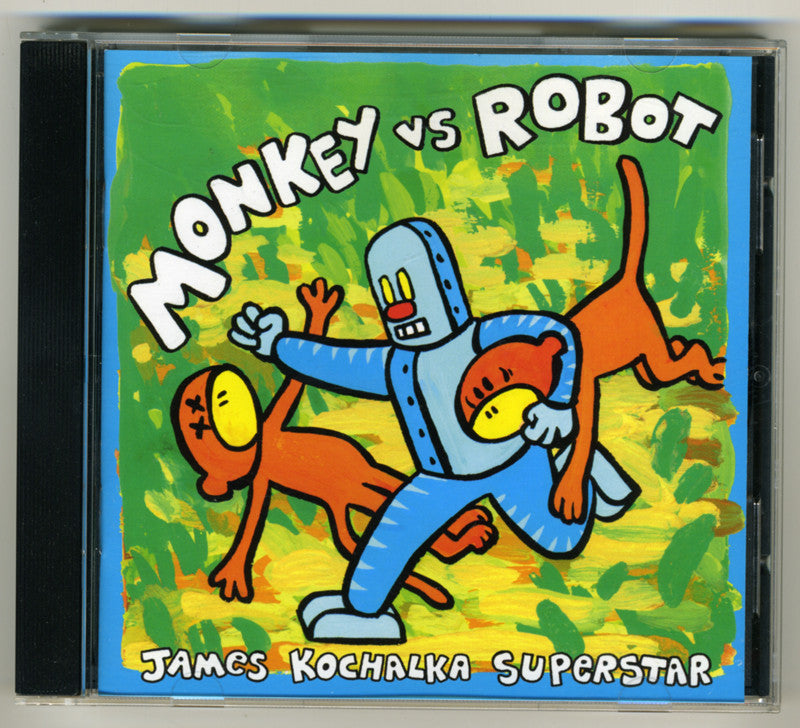 Monkey Vs. Robot CD + Comic book