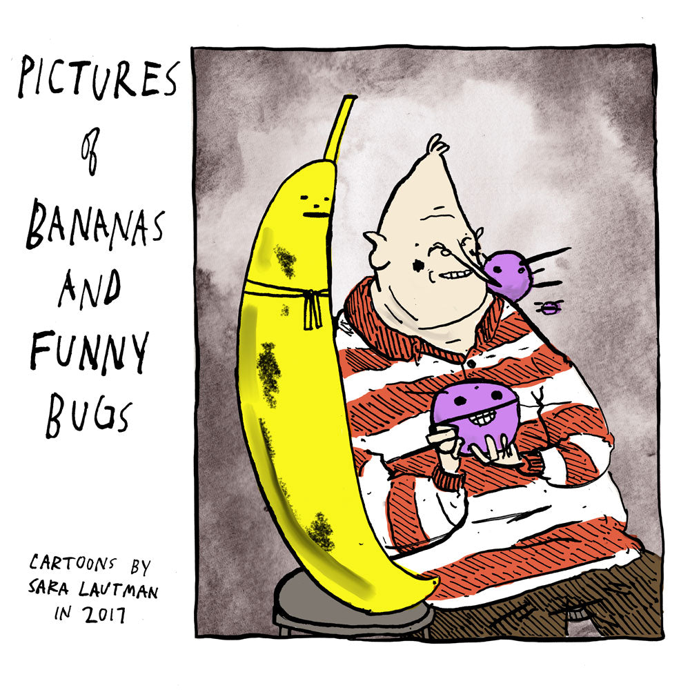 Pictures of Bananas and Funny Bugs