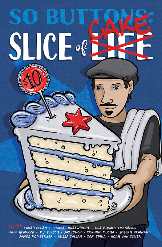 So Buttons: Slice of CAKE