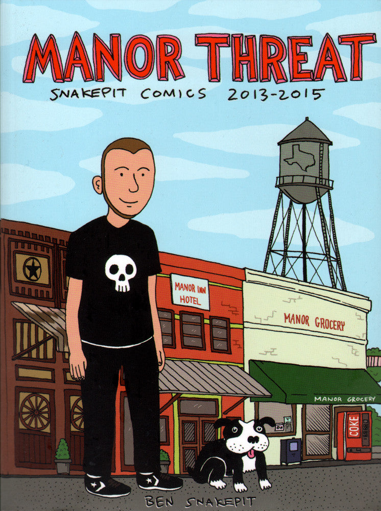 Manor Threat: Snakepit Comics 2013-2015