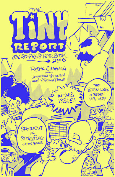 The Tiny Report: Micro-Press Yearbook 2016