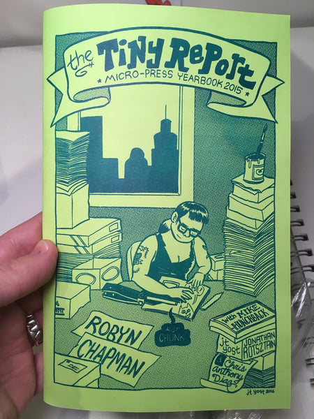 The Tiny Report: Micro-press Yearbook 2015