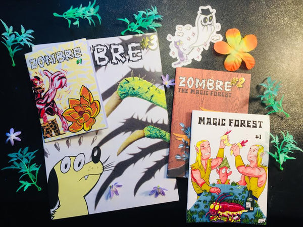 ZOMBRE four-issue bundle