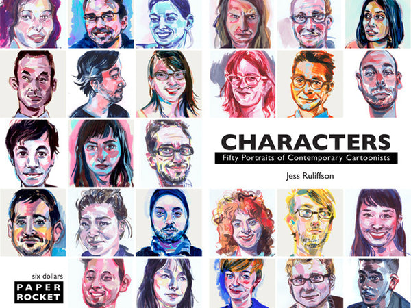 Characters: Fifty Portraits of Contemporary Cartoonists