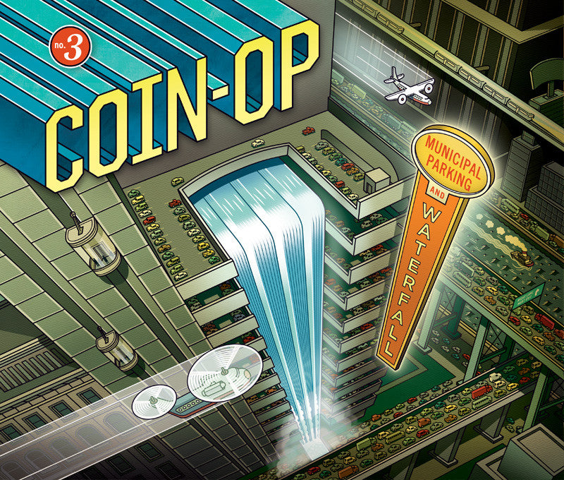 Coin-Op #3: Municipal Parking & Waterfall