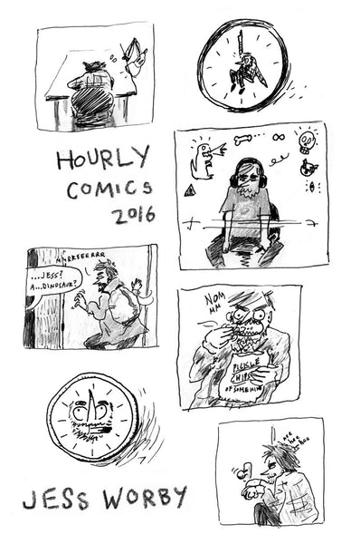 Hourly Comics 2016