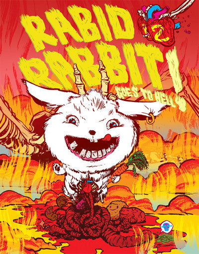 Rabid Rabbit #12 (Goes To Hell)