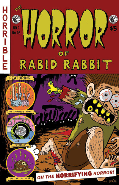 Rabid Rabbit #9 (Horror)