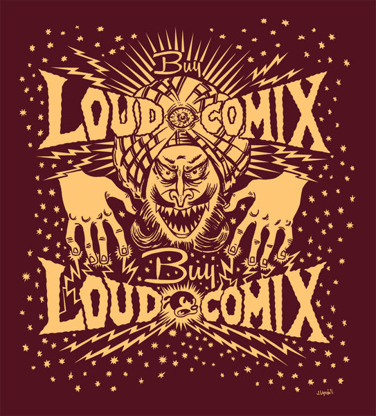 Buy LOUD COMIX Hypno shirt