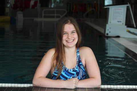 Kaitlyn Bouchard and her Swimming Journey