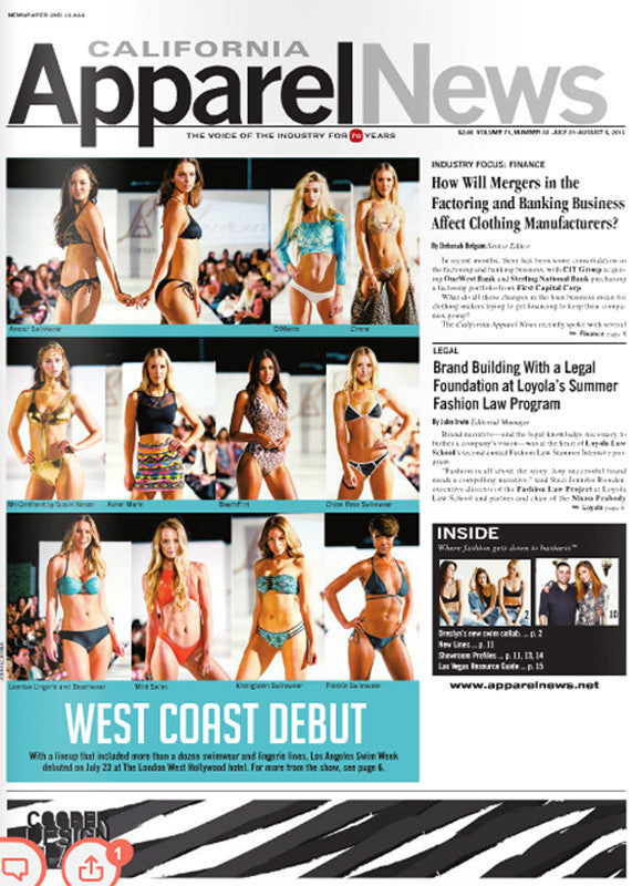 CALIFORNIA APPAREL NEWS AUGUST 2015